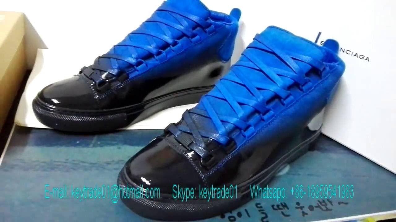 Balenciaga Arena Hightop Sneakers