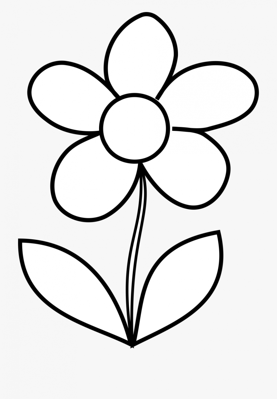 Flower Pot Clipart Black And White
