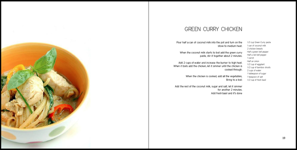 Cookbook layout by Anais Martinez, via Behance | Cookbook ...