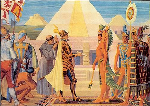 a look at the history of the aztecs There were many interesting features about aztec pyramids with regards to the kind of symbolism either in terms or color of forms here is a look at some details about the aztec pyramids.