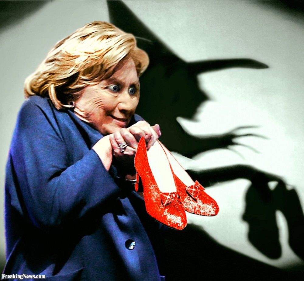 Direct image link hillary clinton the witch with the ruby direct image link hillary clinton the witch with the ruby slippers aljukfo Choice Image