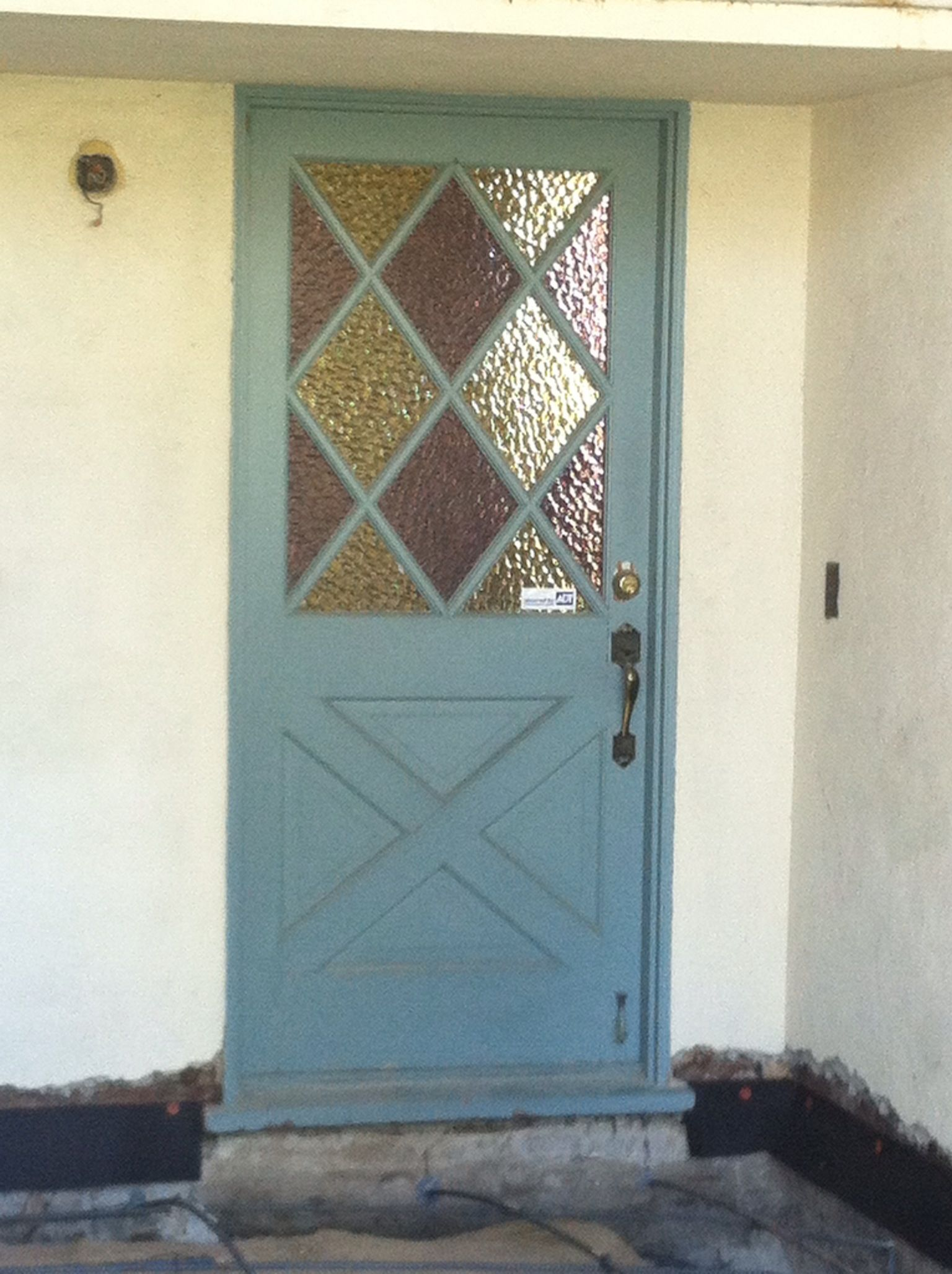 Our 1950s Retro Front Door Is For Sale Retro Vibes Pinterest