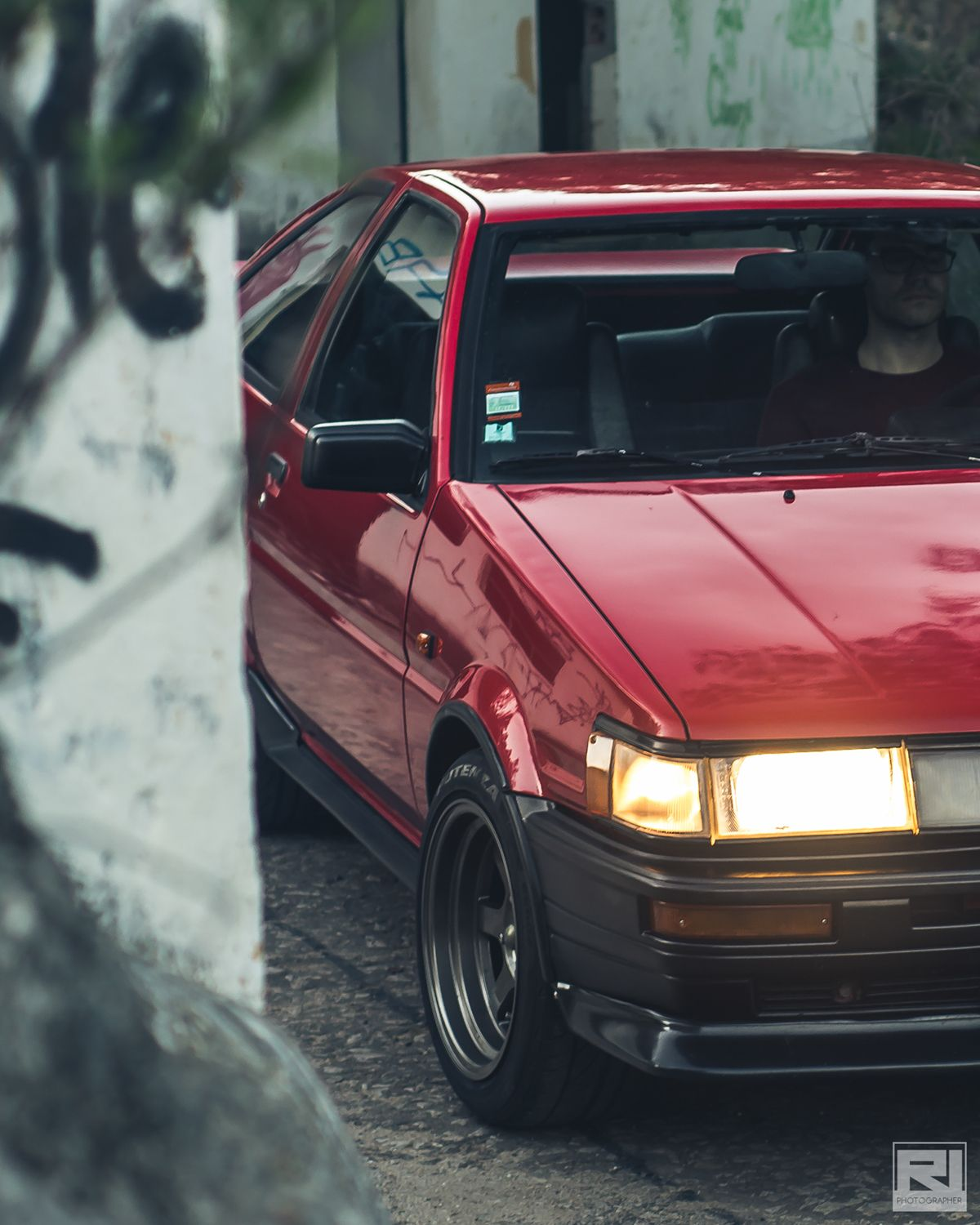 Private Photo Session To A Toyota Corolla Ae86 Levin With Images