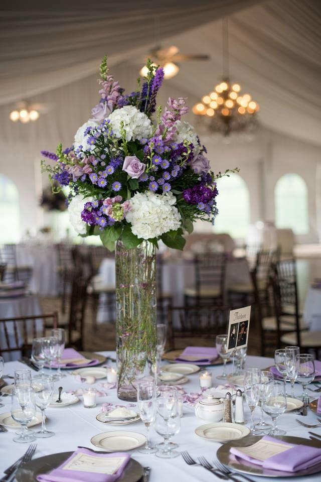 Country Outdoor Wedding Reception