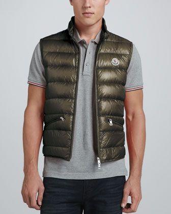 be8364312916 Gui Lightweight Puffer Vest