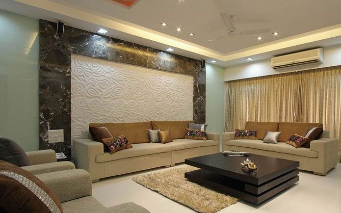Indian interior design for apartments google search manju ahuja pinterest indian for Best living room designs in india