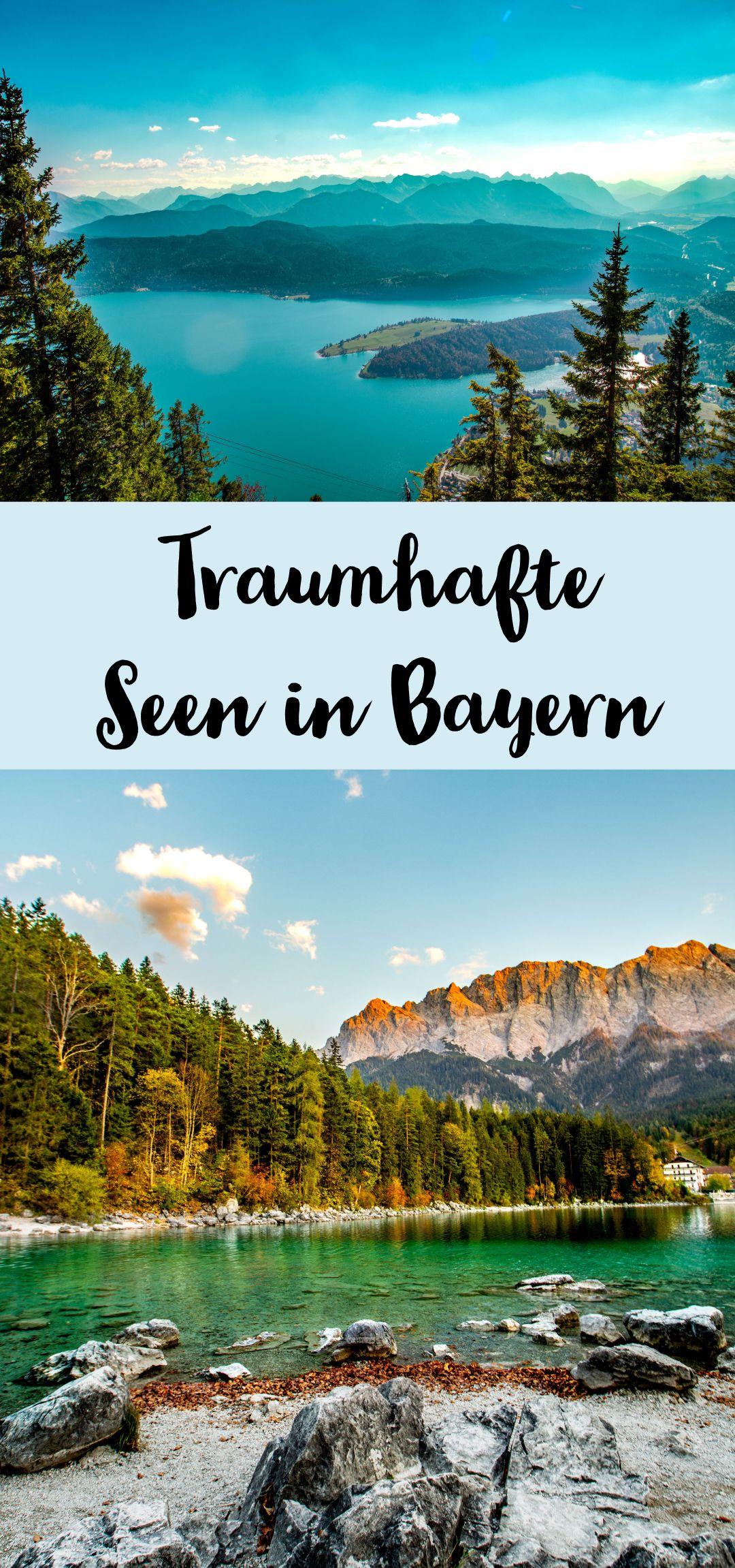 Die Fur Mich 4 Schonsten Seen In Bayern Sophias Welt Seen Bayern Reiseziele Walchensee