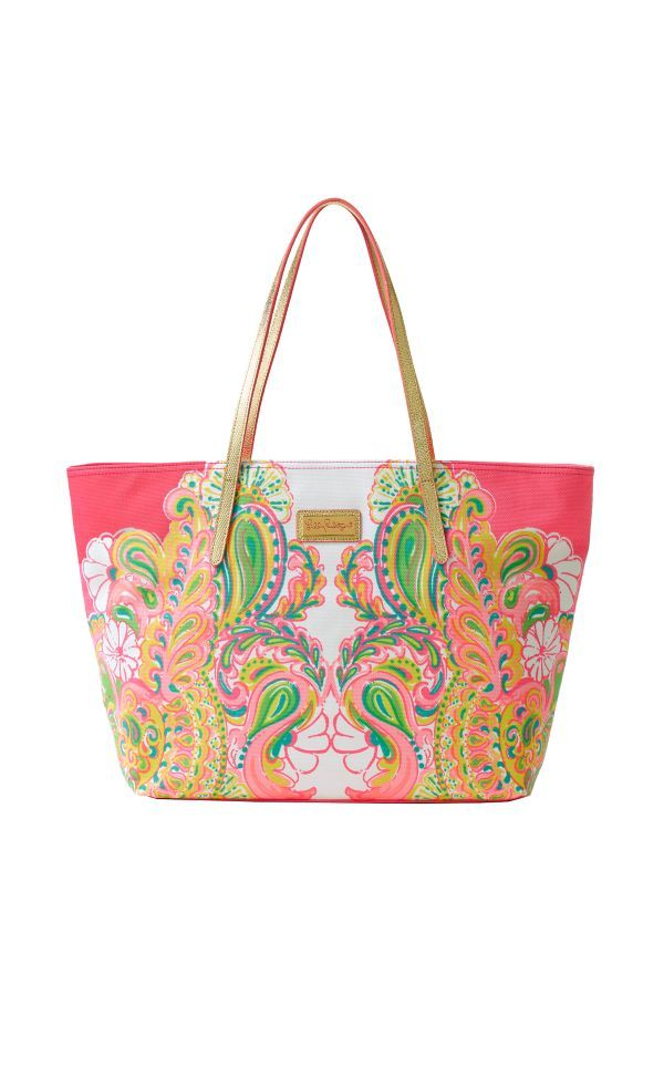 Resort Tote - Double Trouble Engineered - Lilly Pulitzer Hotty Pink Double Trouble Engineered Accessories