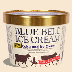 Groovy Best Blue Bell Ice Cream Flavor Finally Back In Stores With Personalised Birthday Cards Veneteletsinfo