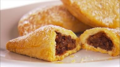 Giada De Laurentiis - Chocolate-Chestnut Tortelli (Christmas Cookies)