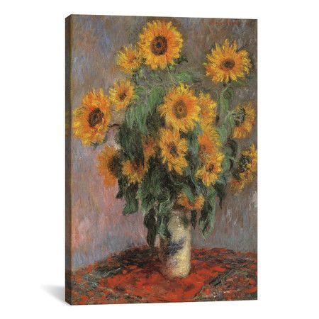 "Found it at Wayfair - ""Sunflowers 1889"" by Vincent Van Gogh Canvas Painting Print http://www.wayfair.com/daily-sales/p/The-Hanging-Garden%3A-Floral-Wall-Art-%22Sunflowers-1889%22-by-Vincent-Van-Gogh-Canvas-Painting-Print~IZN3757~E15598.html?refid=SBP.rBAZEVQZ_J6tFWzMO1nuAp-F18RvjEunqjIFWgGwumo"