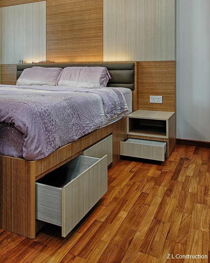 Z L Construction (Singapore) \\\\ Customized bedframe with bottom ...