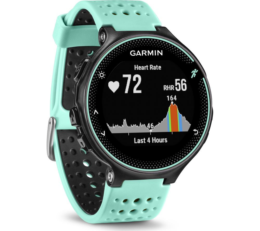 The Garmin Forerunner 235 is a GPS Running Watch with