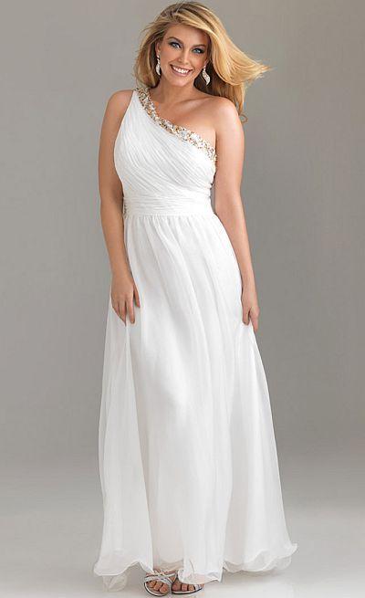 Night Moves Soft And Romantic Chiffon Plus Sized Prom Dress 6504w En