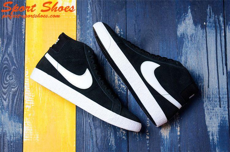 Latest Nike SB Blazer Mid Girls Sneaker Black Suede AH6416-002 ... c541b192e