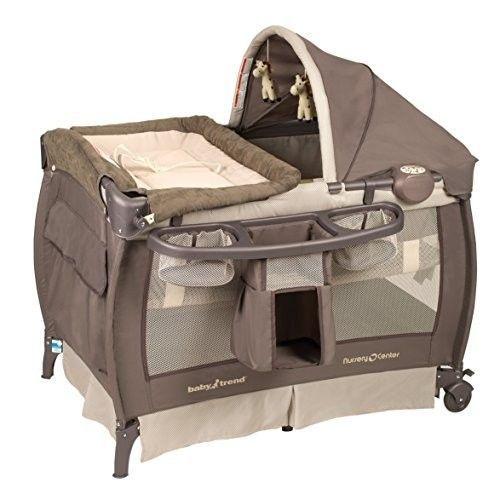 Travel Bassinet Portable Crib Nursery Center Changing