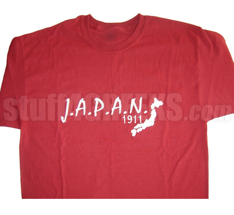 463686bf7706bb J.A.P.A.N. 1911 T-SHIRT, CRIMSON/WHITE Item Id: PRE-KAY-JAPAN1911-CRIM-ST  Price: $39.00. Find this Pin and more on Kappa Alpha Psi ...