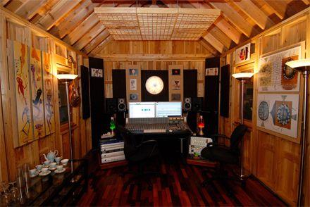 The Shed Of Your Dreams Home Studio Setup Backyard Music Studio Studio Shed