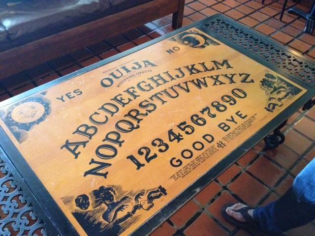 ouija board table. | furniture | pinterest | ouija, board and