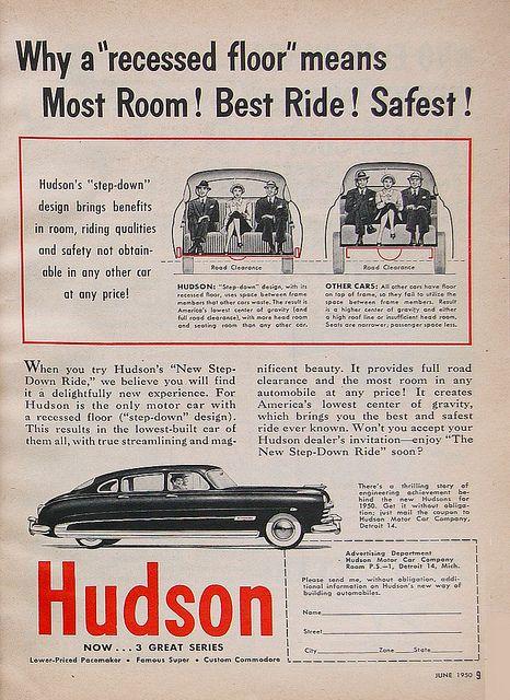 Hudson Old Advertising Car Advertising Vintage Cars Antique Cars
