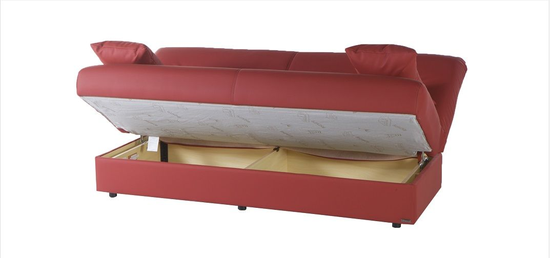 Regatta D0208 Click Clack Sofa Bed Sleeper Sofa Open To Storage