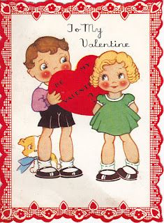 Sweetly Scrapped: Vintage Valentines