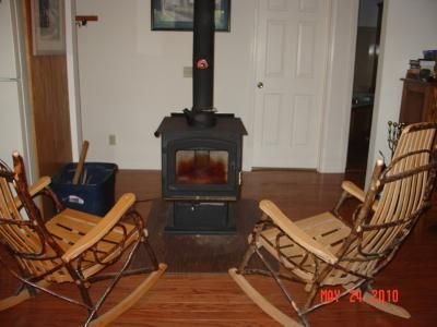 This Drolet Myriad High-Efficiency Wood Stove is mobile home approved. Stove  features high - This Drolet Myriad High-Efficiency Wood Stove Is Mobile Home