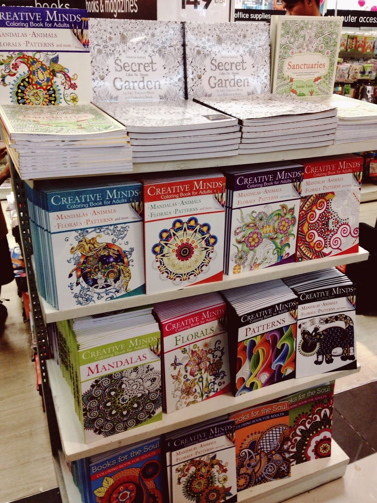 Adult Coloring Books In Sm Department StoreJPG