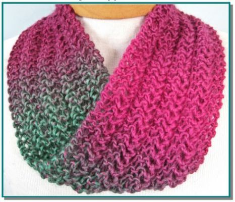Knitting Patterns Infinity Scarf Knitting Pinterest Knitting
