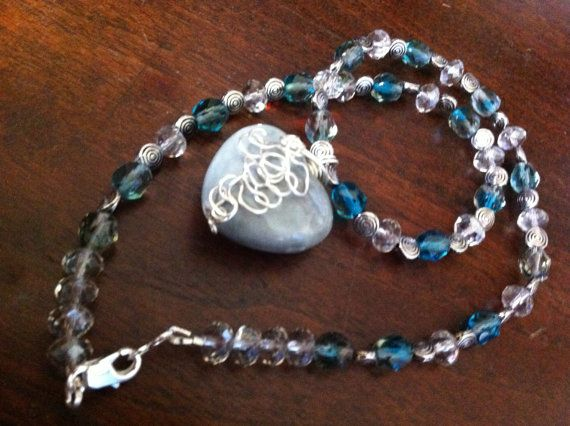 grey heart by SallyPeas on Etsy, $25.00