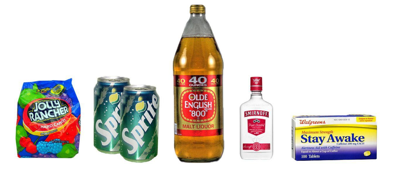 Basic Flavor Ingredients Malt Liquor Beer Bottle