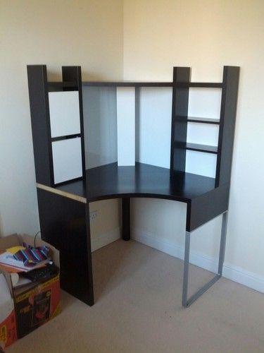 Ikea Micke Corner Desk Drawer Unit Ebay Desk With Drawers Corner Desk Computer Table Design
