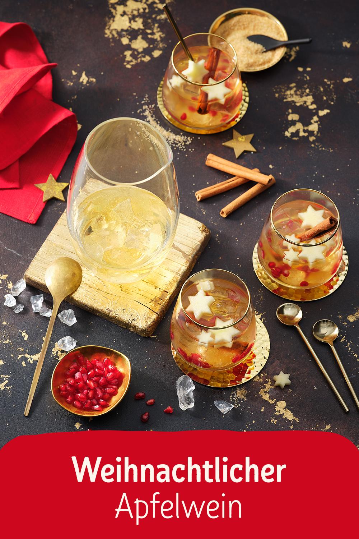 Weihnachtlicher Apfelwein #cocktaildrinks
