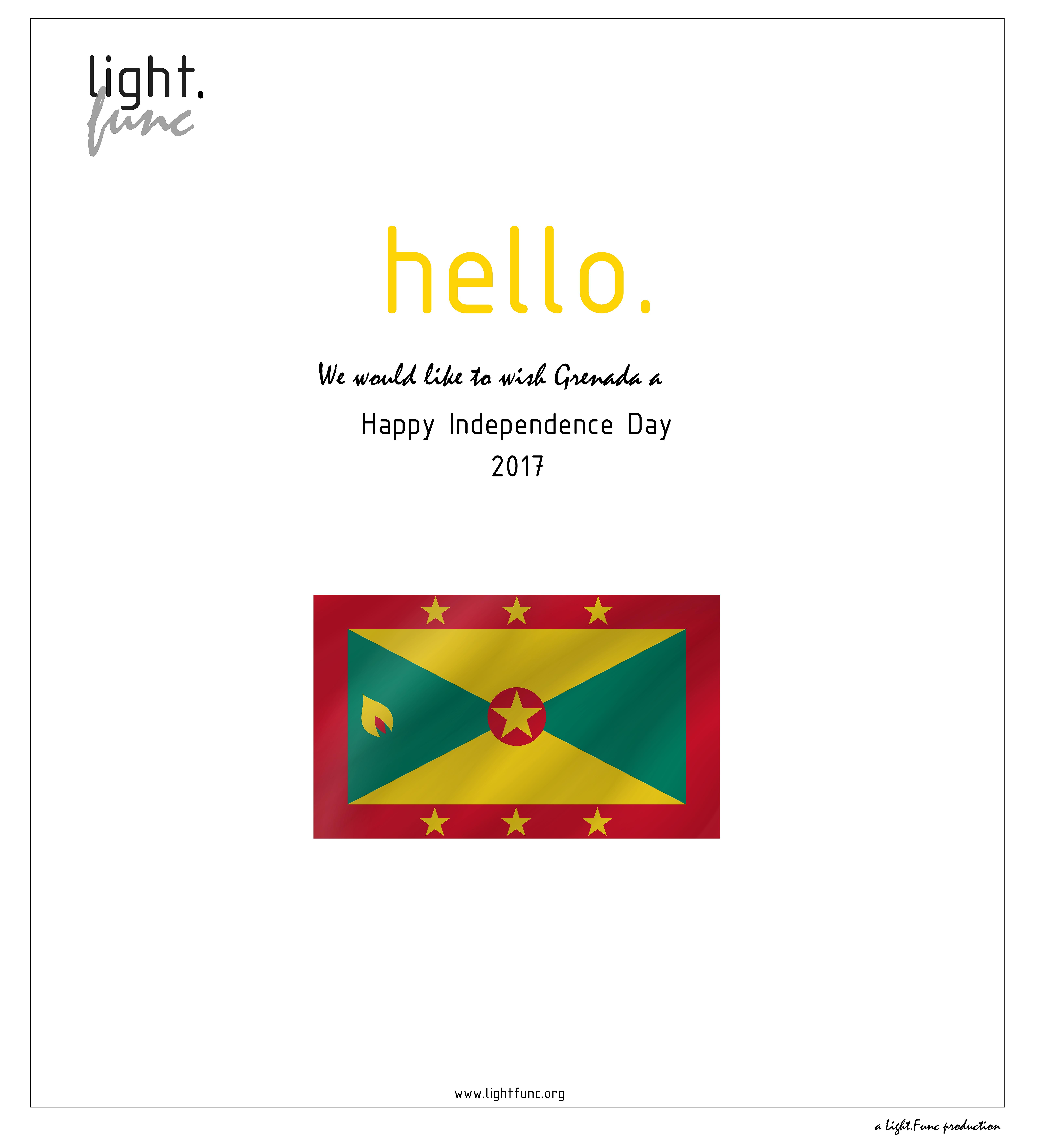 Happy Independence Day Grenada We Dedicate Our Posts To You Lightfunc Lightingdesign Architecture Lighting Design Happy Independence Day Design Studio