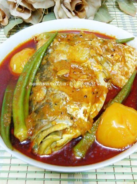 Dari Dapur Madihaa Kari Kepala Ikan Ala Mamak