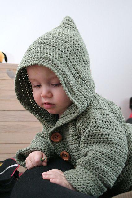 free pattern: baby hoodie