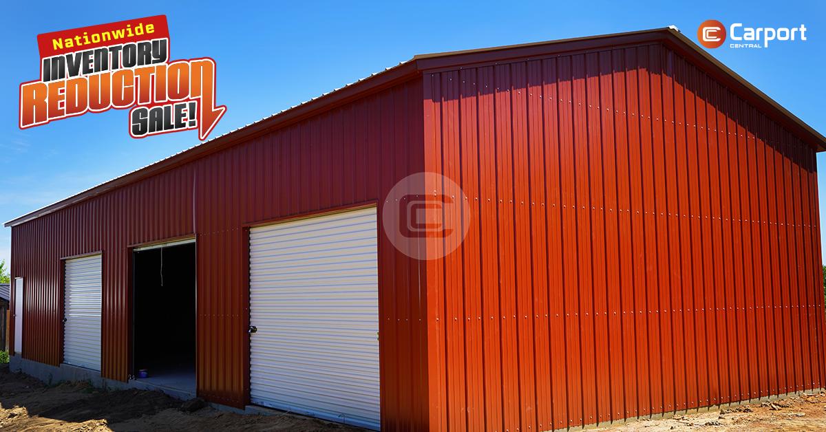 Nationwide Metal Building Inventory Reduction Sale Metal