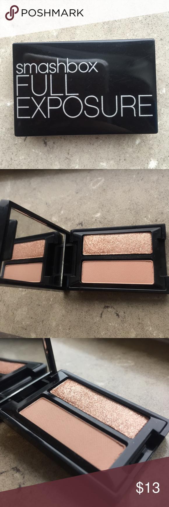 ✨Brand New Smashbox Full Exposure Eye Shadows! New Smashbox Full Exposure eyeshadow palette with mirror! Smashbox Makeup Eyeshadow