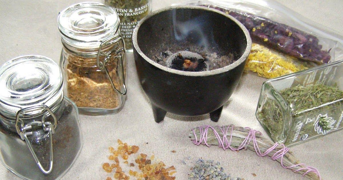 Making Loose Incense Incense, Herbalism, Smudge sticks