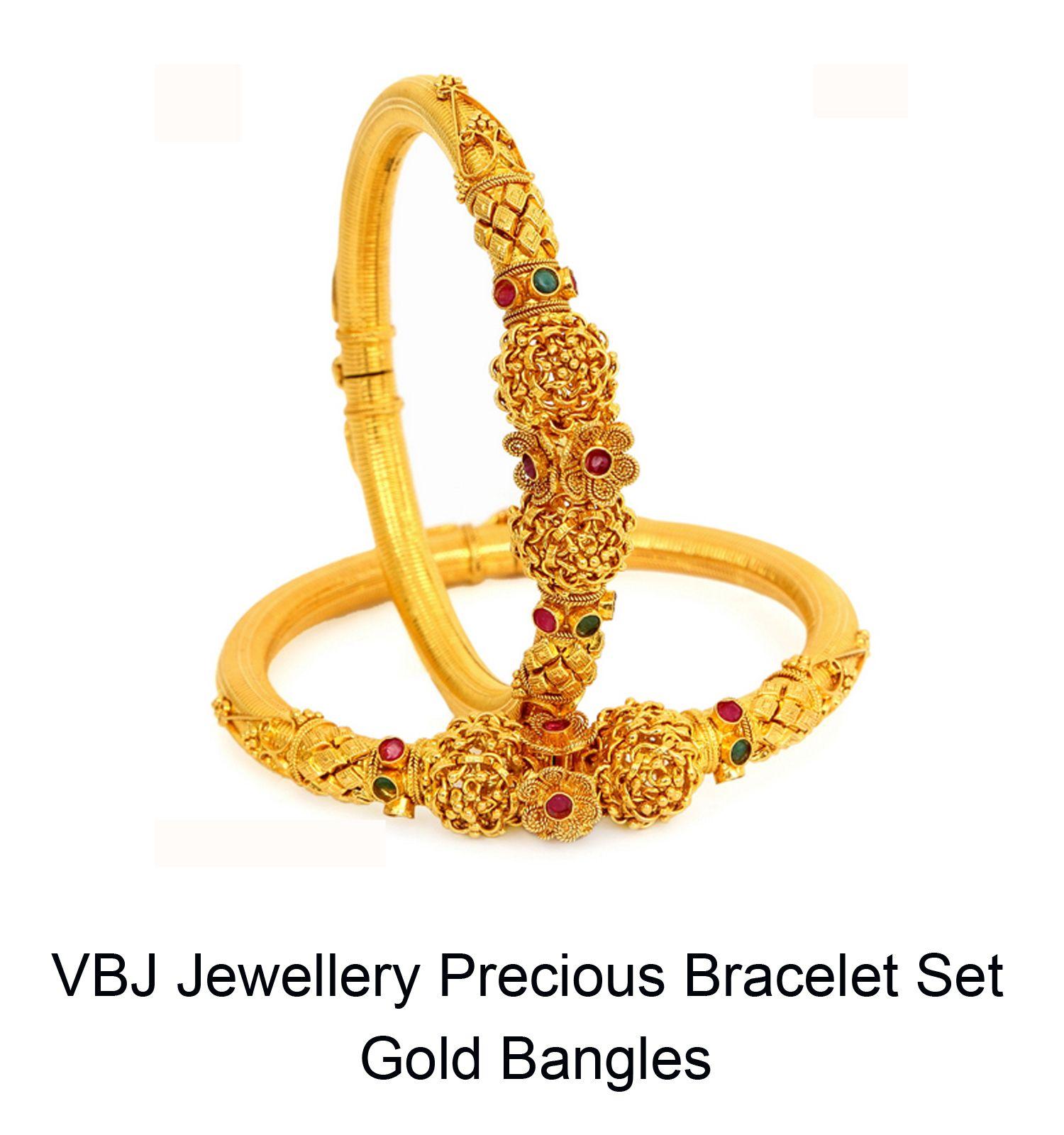 VBJ-Jewellery-Precious-Bracelet-Set-Gold-Bangles-Best-Price-Offer ...
