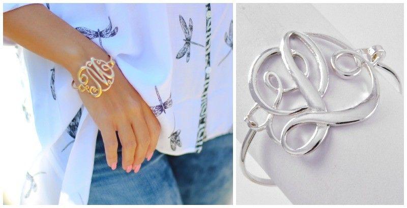Must Have Monogram Bracelets-in 2 colors | ToAdorn.com
