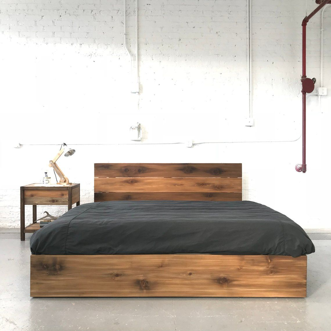 The Butte Platform Loft Style Solid Wood Handmade In Usa Loft Style Solid Wood Home Decor