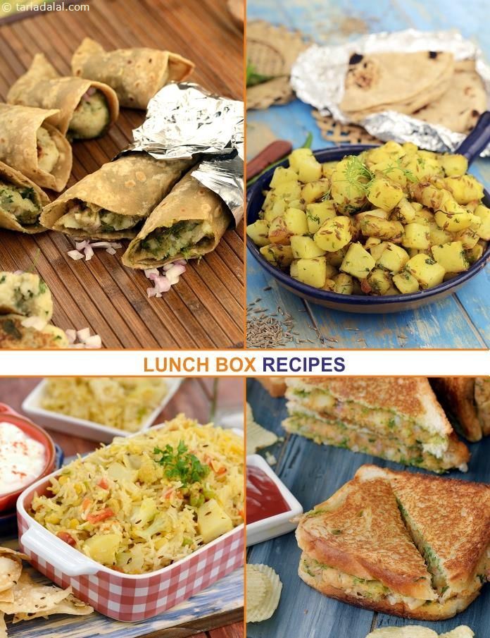 76 Veg Kids Lunch Box Recipes, Indian Lunch Box Ideas