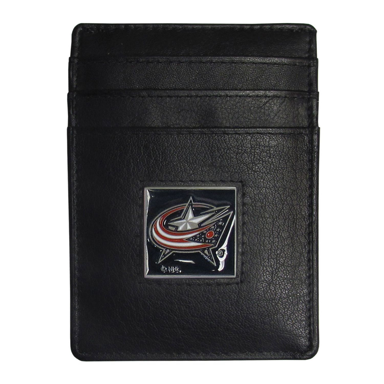 NHL Columbus Jackets Sports Team Logo Money Clip Card Holder Packaged in Gift Box