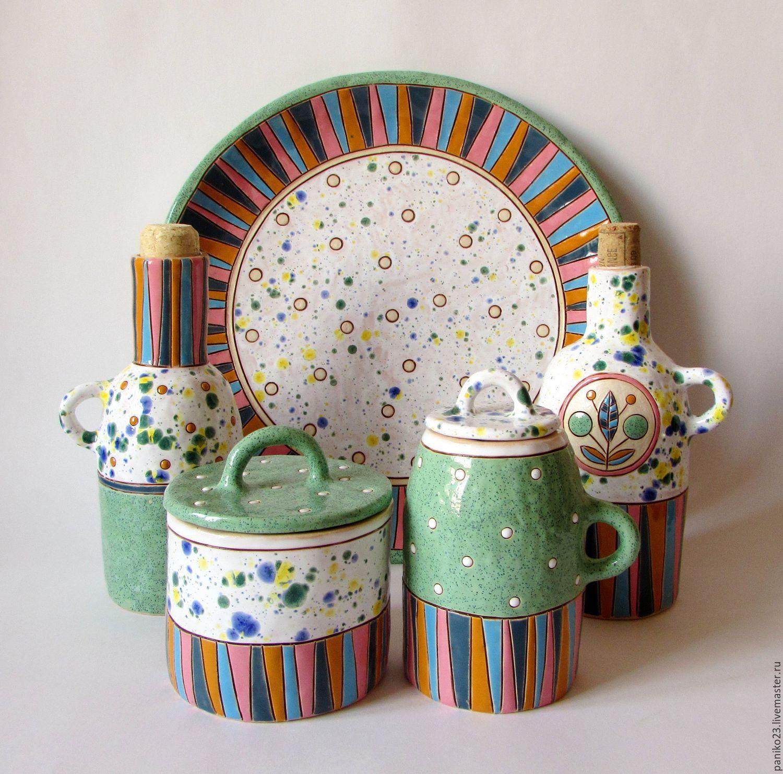"""Купить Набор для кухни """"Позитив"""" - комбинированный, кухня, кухонный интерьер, кухонная утварь, кухонные принадлежности"""