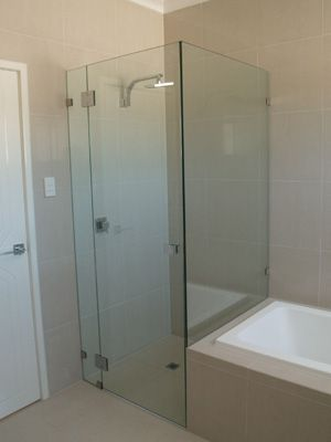 Made to Measure, End of Bath Shower Enclosure, CGC Showers | Shower ...