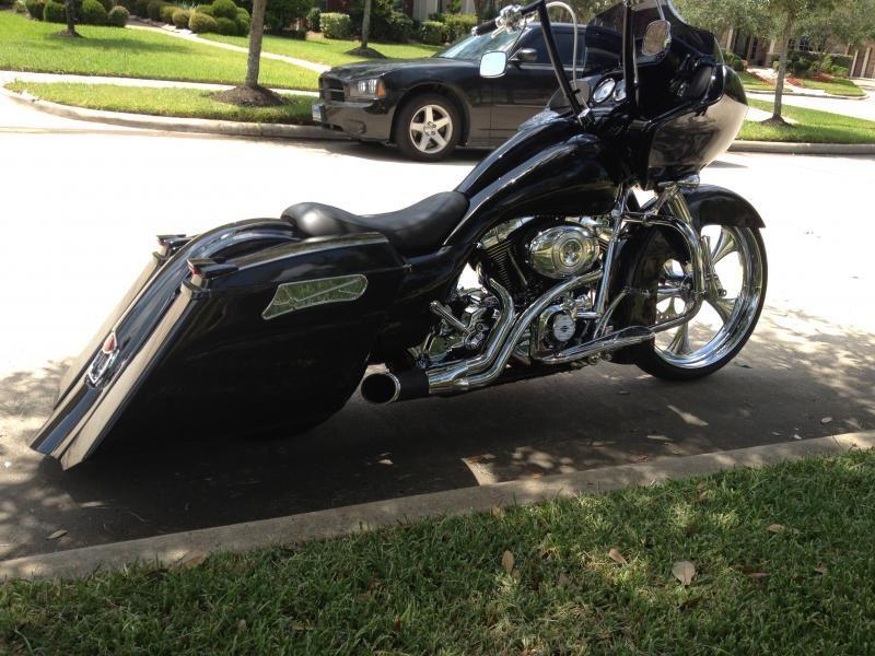 Rue's 2012 Roadglide Custom Vivid Black   Motorcycles ...