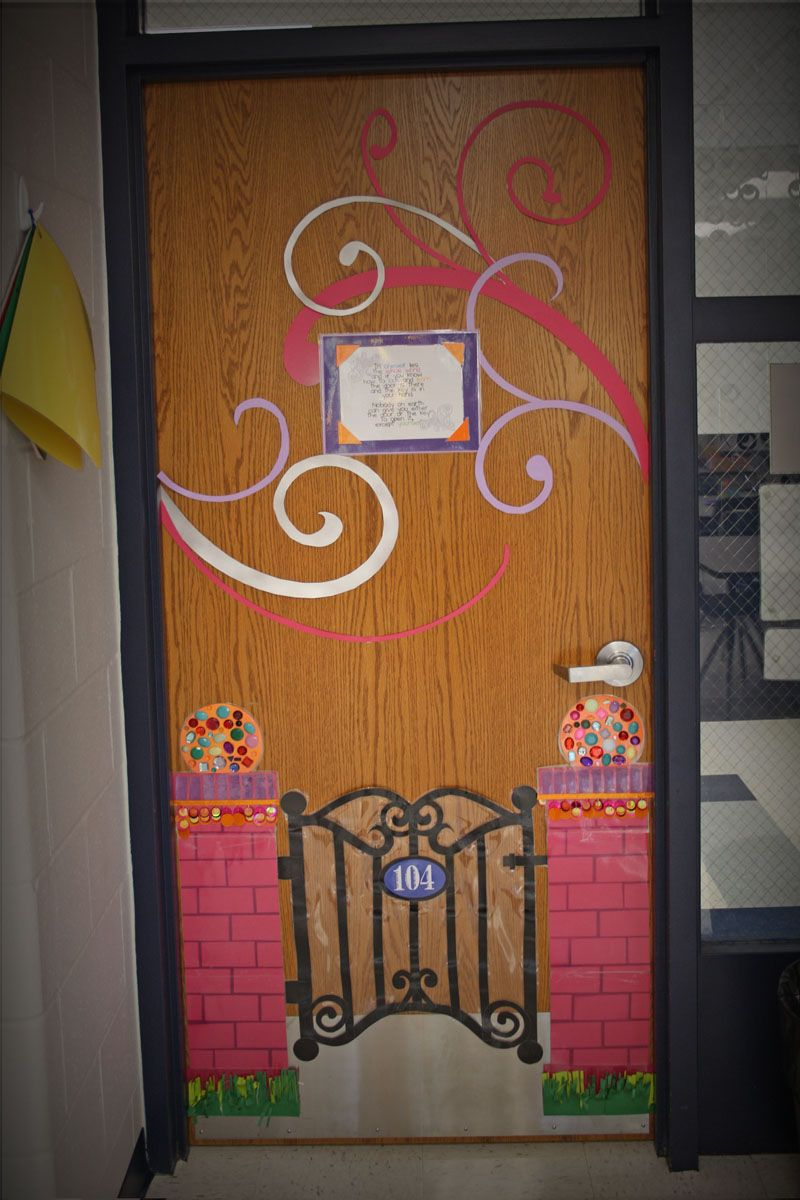 Classroom Decoration Ideas Quote : Welcome gate classroom door pinterest