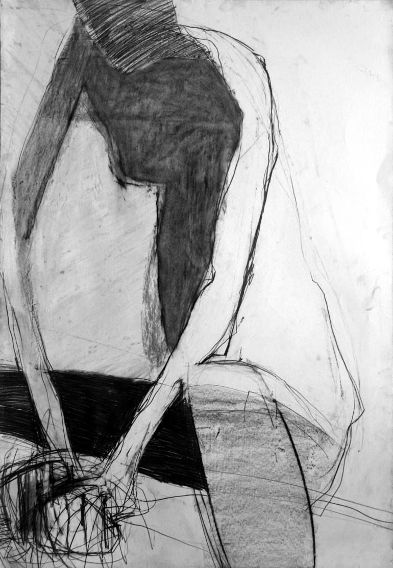 "Saatchi Art Artist joanna chimka; Drawing, ""pic.10/nude"" #art"
