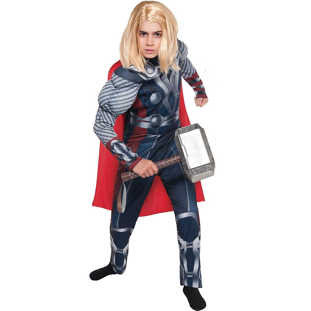 Boys The Avengers Thor Muscle Costume | Thor costume, Boy ...